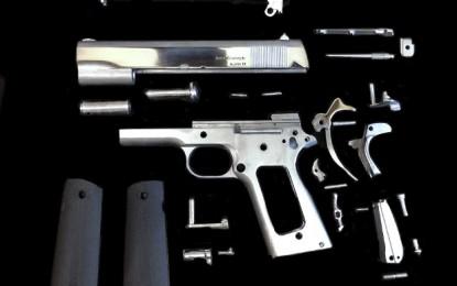 Première arme imprimée en métal créée