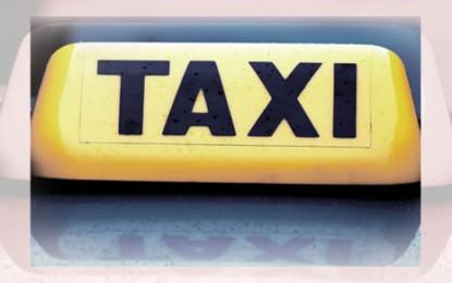Un chauffeur de taxi prêt à faire la guerre