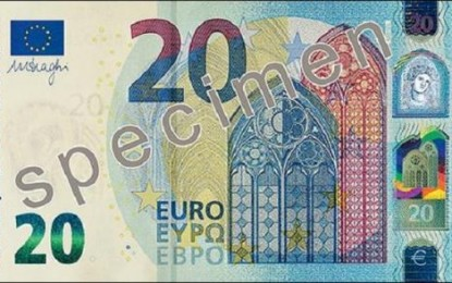 Un nouveau billet de 20 euros mis en circulation le 25 novembre 2015